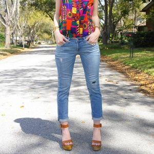 AG The Stilt Skinny Jean in 19 Years Mend 26